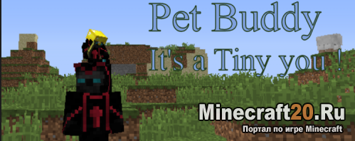 Мод Pet Buddy [1.11.2] [1.10.2]