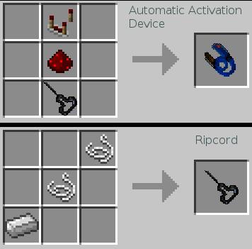 Мод Parachute [1.12.2] [1.11.2] [1.10.2]
