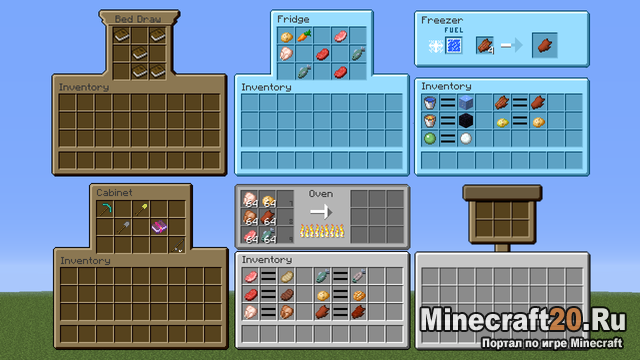 Мод MrCrayfish's Furniture [1.12.2] [1.11.2] [1.10.2] [1.9.4]