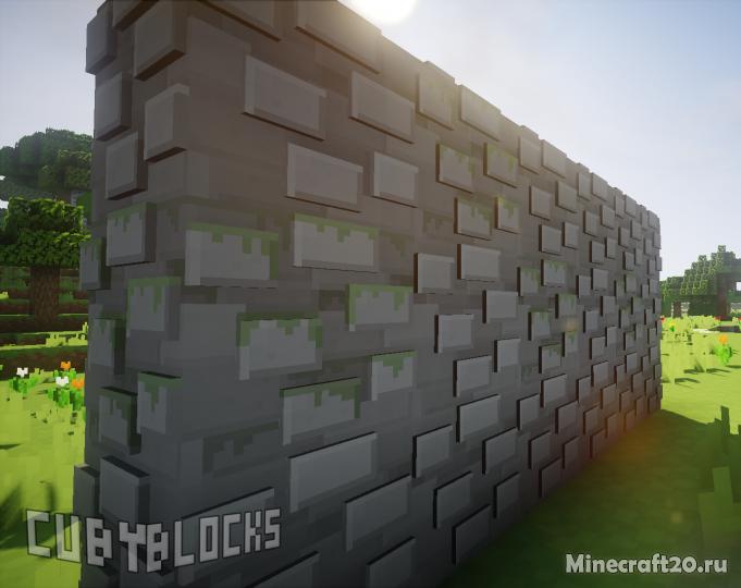 Ресурспак CubyBlocks3D (32x) [1.12.2] [1.11.2]