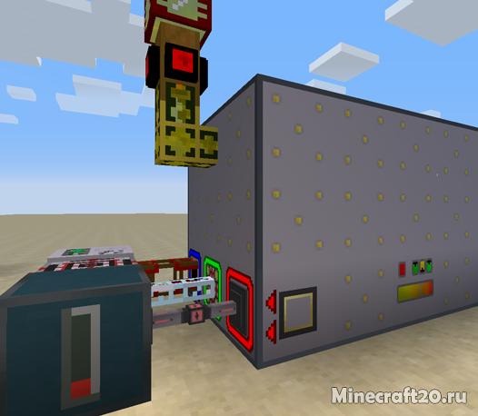 Мод Advanced Generators [1.12.2] [1.11.2] (Генератор энергии)