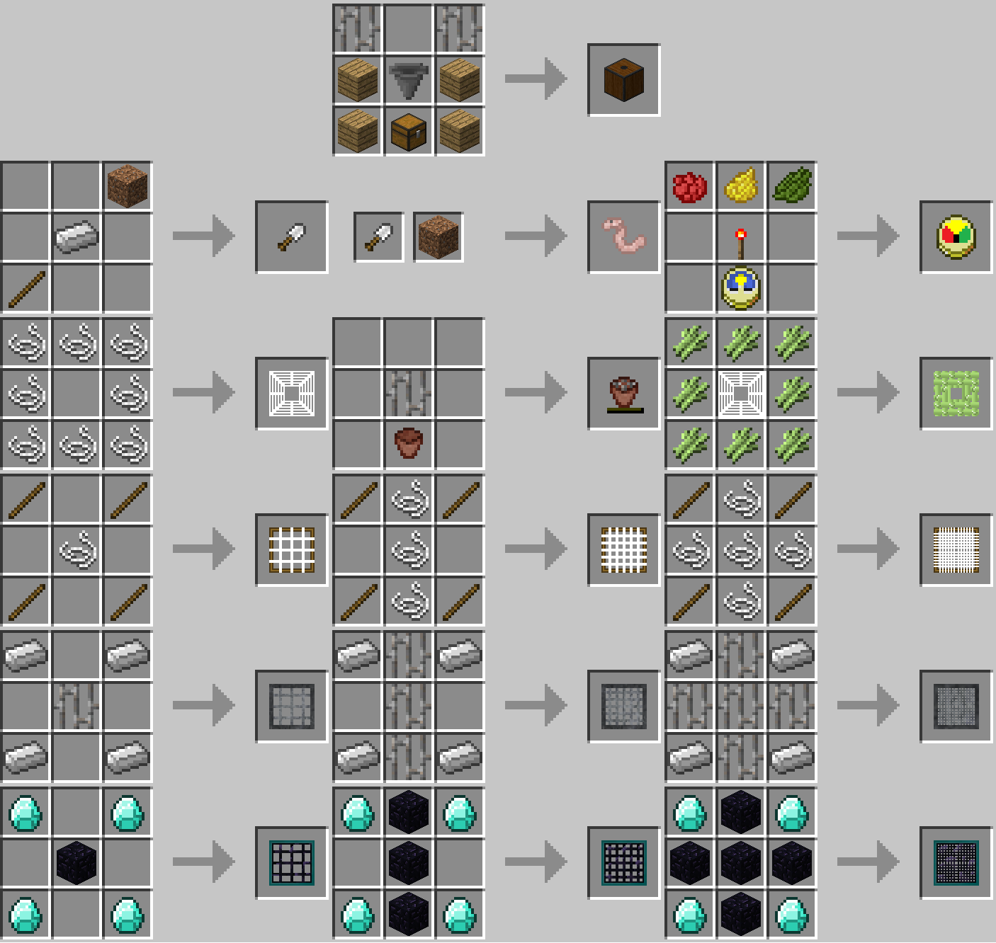 Мод Water Strainer [1.12.2] [1.11.2] [1.10.2] [1.9.4]
