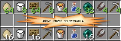 Мод Upsizer [1.12.2] [1.11.2] [1.8.9]