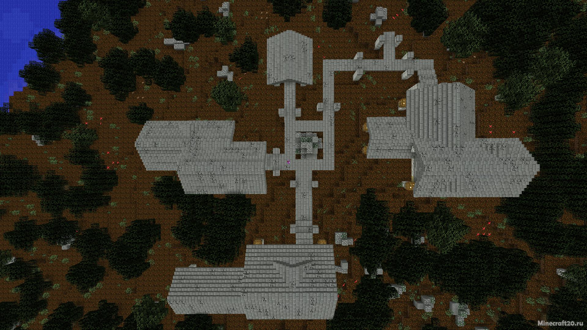 Карта Overgrown (Паркур) [1.12.2]