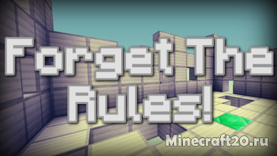 Карта Forget The Rules [1.12.2] [1.12]