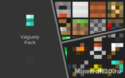 Ресурспак Vaguely [1.12.2] [1.11.2]