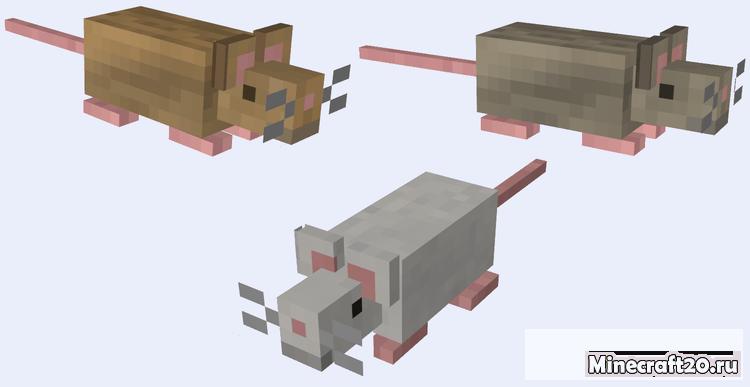 Мод Mo'Creatures [1.12.2] [1.10.2] (Много животных)