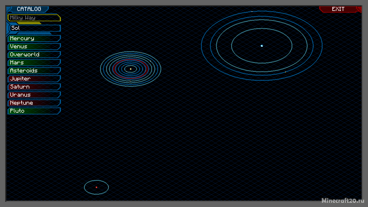 Мод More Planets [1.12.2] [1.11.2] [1.10.2]