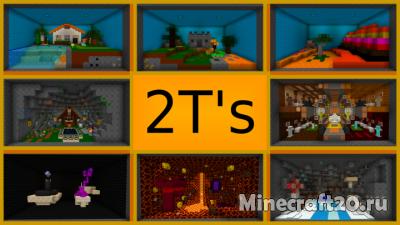 Ресурспак Two T's (8x) [1.12.2] [1.11.2]