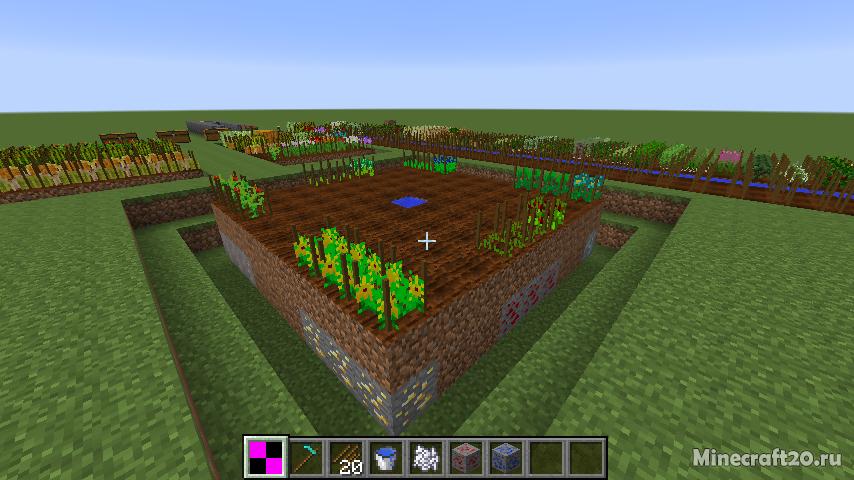 Мод AgriCraft [1.12.2] [1.10.2] (Сельское хозяйство)