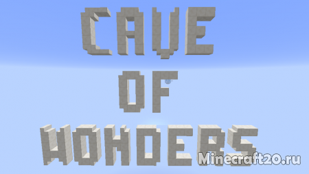 Карта The Cave of Wonders [1.12.2] (Паркур)