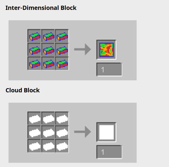 Мод Extra Dimensions [1.12.2] (Измерения из блоков)
