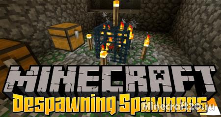 Мод Despawning Spawners [1.12.2] (Ограничение спавна)