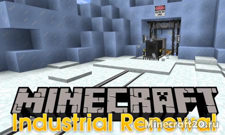 Мод Industrial Renewal [1.12.2] (Индустриальные блоки)
