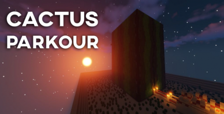 Карта Cactus Tower Parkour 1.12.2 (Паркур)