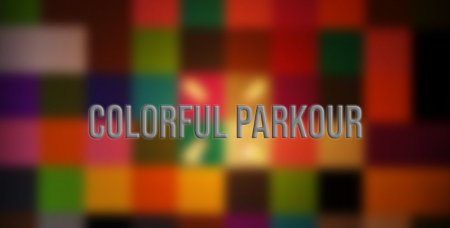 Карта Colorful Parkour 1.12.2 (Паркур)