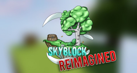 Карта SkyBlock Reimagined 1.13.2 (Выживание)