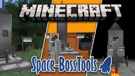 Перейти в новость Мод Space-BossTools 1.16.5/1.15.2 (Ракеты на Луну и Марс)