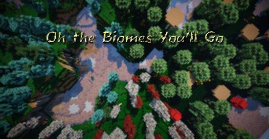 Перейти в новость Мод Oh The Biomes You Go 1.16.5/1.15.2 (Путешествие в бездну)