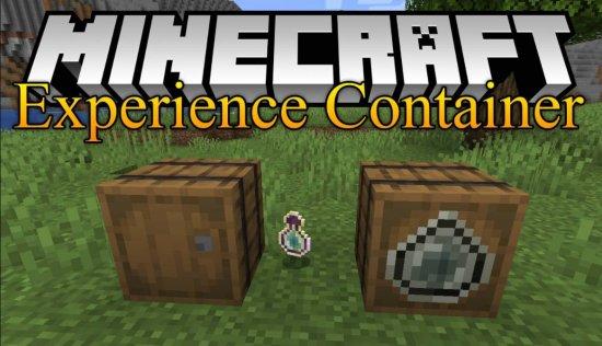 Перейти в новость Мод Experience Container 1.16.5/1.15.2 (Контейнер опыта)